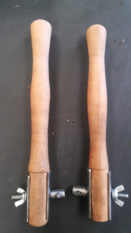 2 'climax' style saw handles